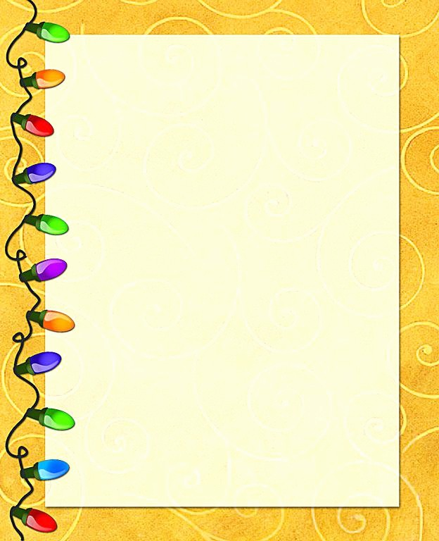 Holiday Paper Templates Free Download Awesome Holiday Stationery Winter Template Download – theopulence