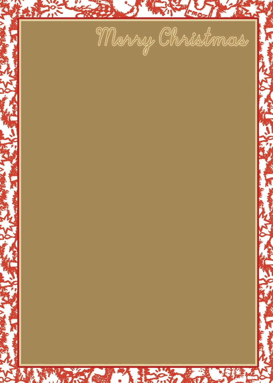 Holiday Paper Templates Free Download Beautiful Holiday Stationery Templates Free Download Free Printable