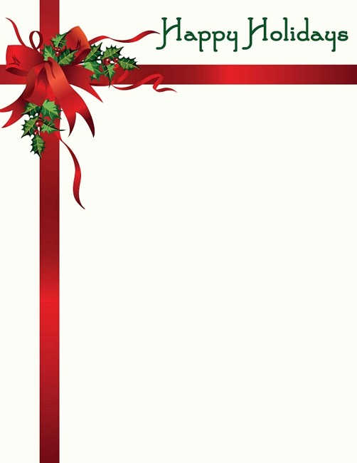 Holiday Paper Templates Free Download Best Of 19 Free Christmas Letter Templates Downloads Free