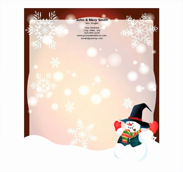 Holiday Paper Templates Free Download Elegant Religious Stationery Templates Free Xmas Letterhead