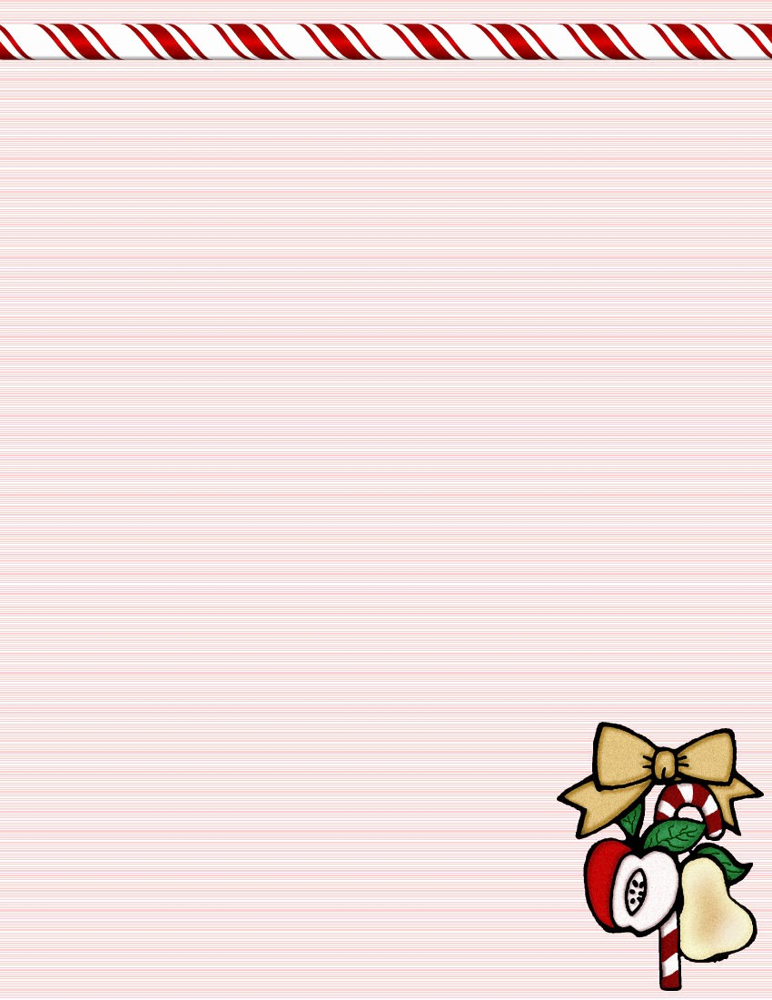Holiday Paper Templates Free Download Lovely Christmas 1 Free Stationery Template Downloads