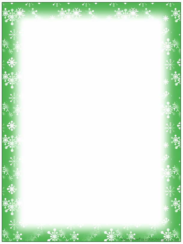 Holiday Paper Templates Free Download New 5 Best Of Free Printable Christmas Border Templates