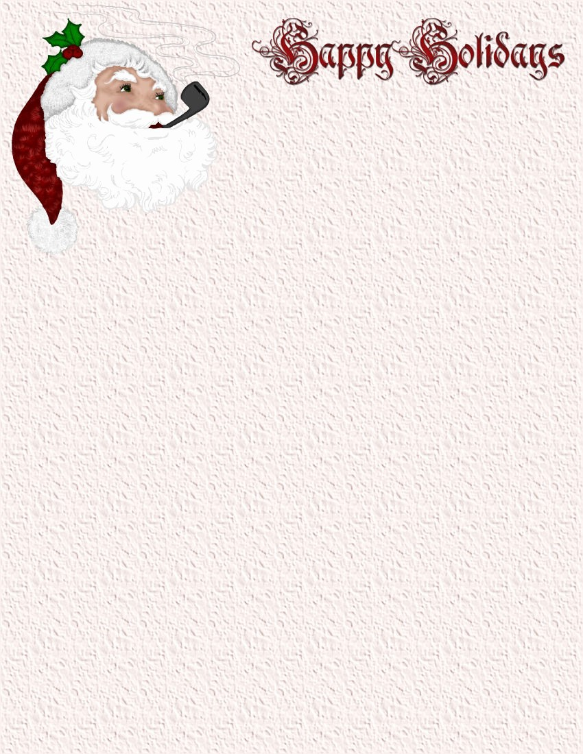 Holiday Paper Templates Free Download Unique Christmas 1 Free Stationery Template Downloads