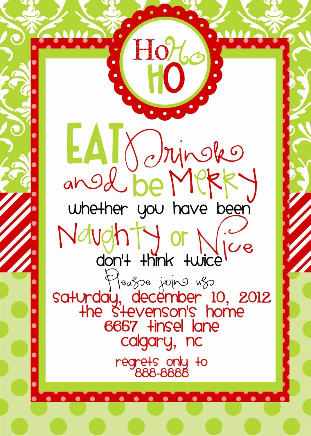 Holiday Party Invitations Template Word Awesome Christmas Party Invitations Templates Free Printables