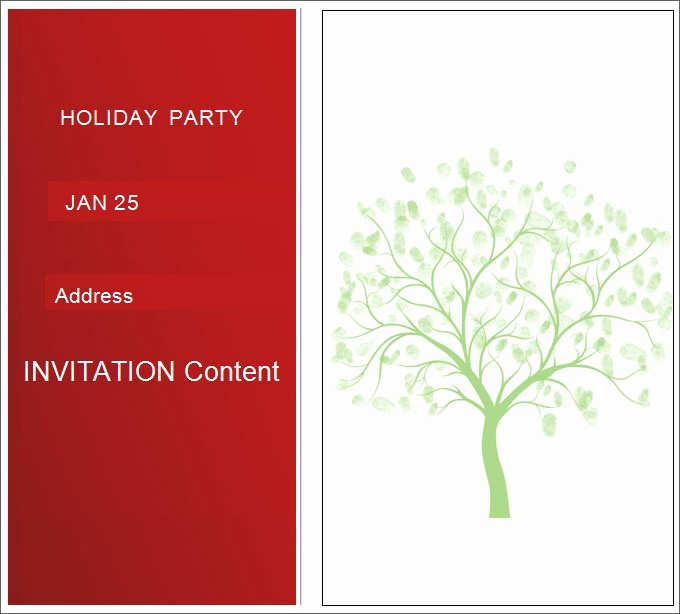 Holiday Party Invitations Template Word Beautiful 27 Best Blank Invitation Templates Psd Ai