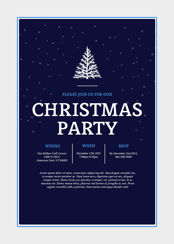 Holiday Party Invitations Template Word Lovely Make Homemade Christmas Cards the New Old Fashioned Way