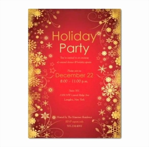 Holiday Party Invitations Template Word New View R Christmas Party Invitation Template Word