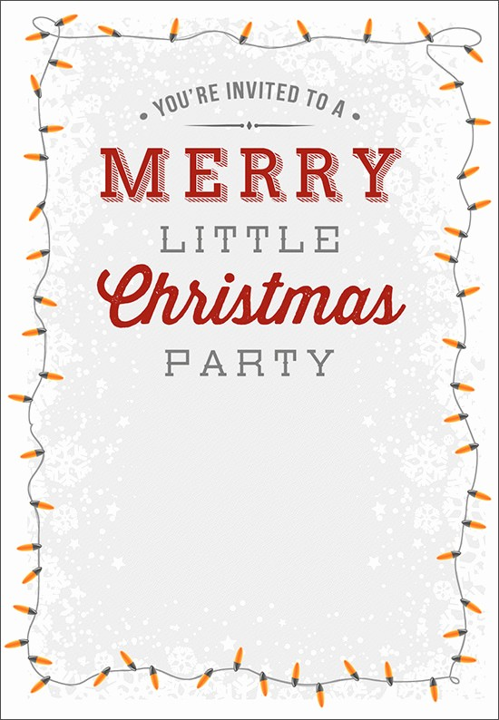 Holiday Party Invitations Template Word Unique 12 Printable Christmas Invitation Templates
