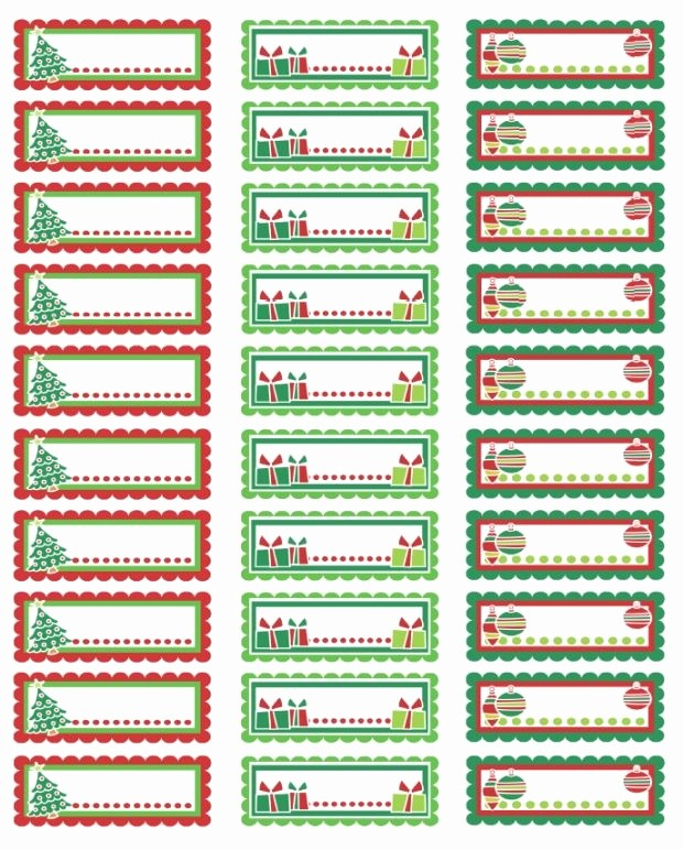 Holiday Return Address Label Templates Best Of Christmas Return Address Labels Template Invitation Template