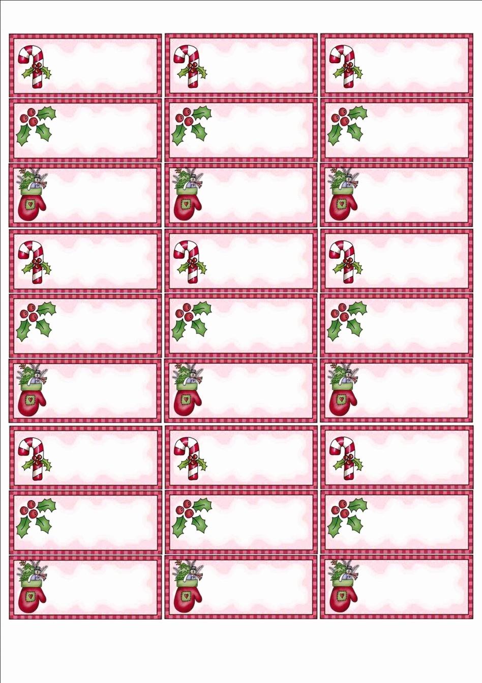 Holiday Return Address Label Templates Fresh Free Christmas Return Address Labels Template Shopgrat 3