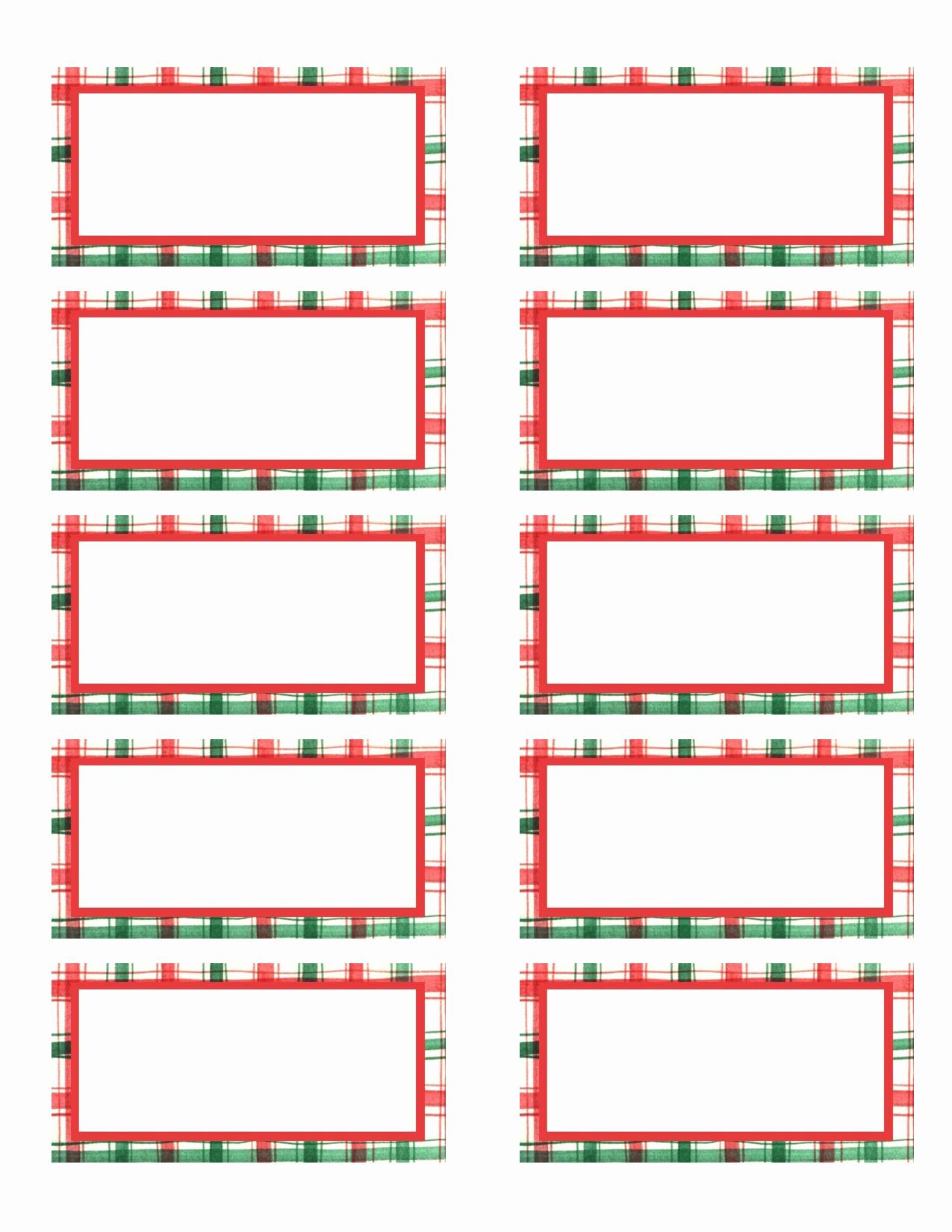 Holiday Return Address Label Templates Luxury Printable Return Address Labels Free