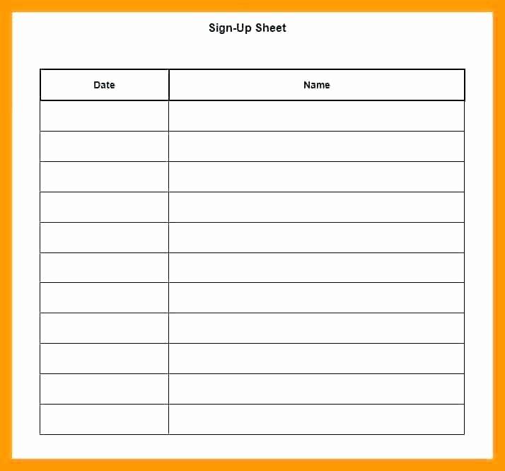 Holiday Sign Up Sheet Template Beautiful Christmas Potluck Signup Sheet Template Excel Holiday