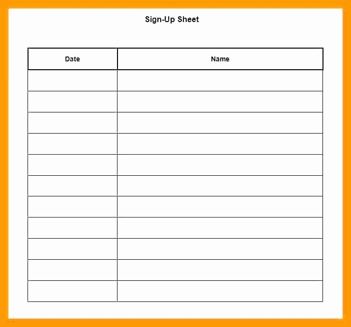 Holiday Sign Up Sheet Templates Elegant Christmas Potluck Signup Sheet Template Excel Holiday