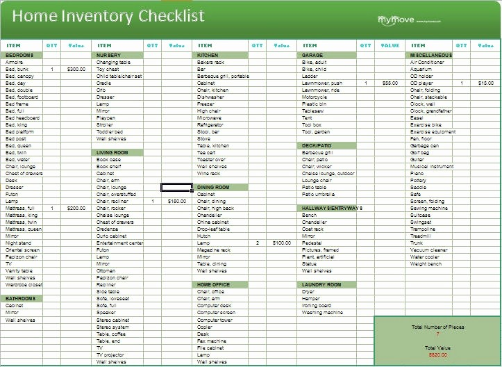 Home Contents Inventory List Template Elegant 19 Best Images About Inventory Management On Pinterest