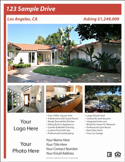 Home for Sale Flyer Templates Best Of Real Estate Flyer Templates the Best Free & Paid List