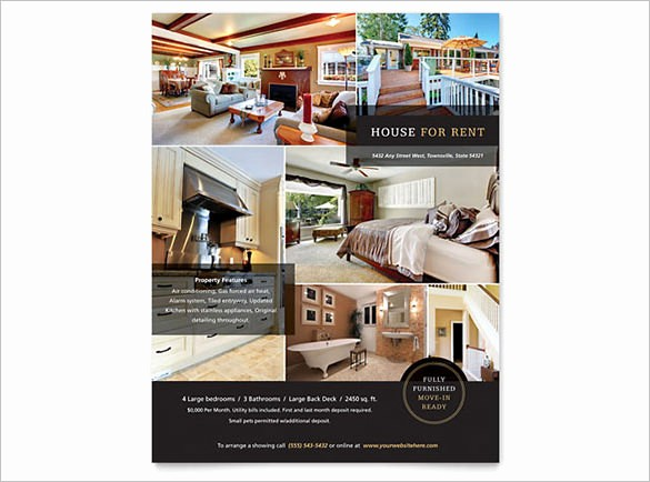 Home for Sale Flyer Templates Inspirational 20 Stylish House for Sale Flyer Templates & Designs