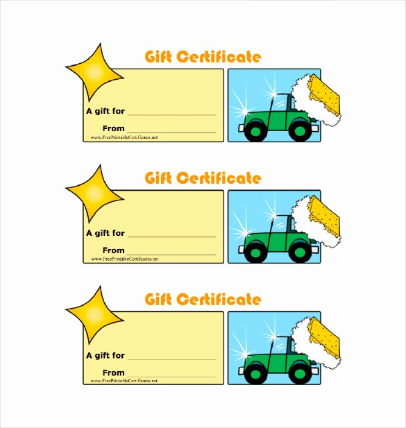Homemade Gift Certificate Templates Free Awesome 8 Homemade Gift Certificate Templates Doc Pdf