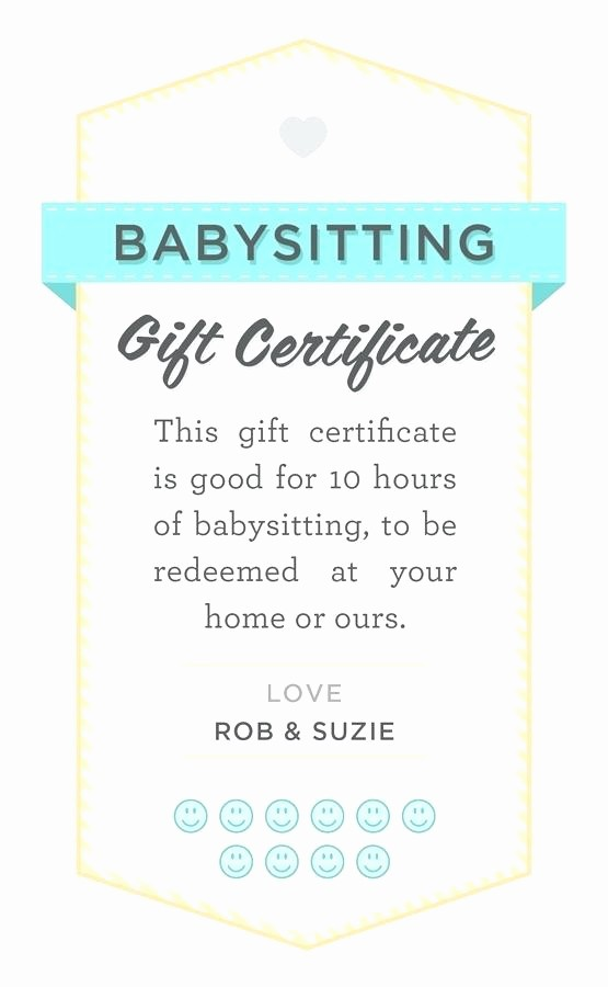 Homemade Gift Certificate Templates Free Beautiful Homemade Gift Card Template Free Printable Personalized