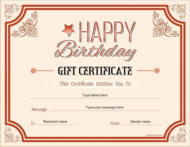 Homemade Gift Certificate Templates Free Best Of Pin by Alizbath Adam On Certificates