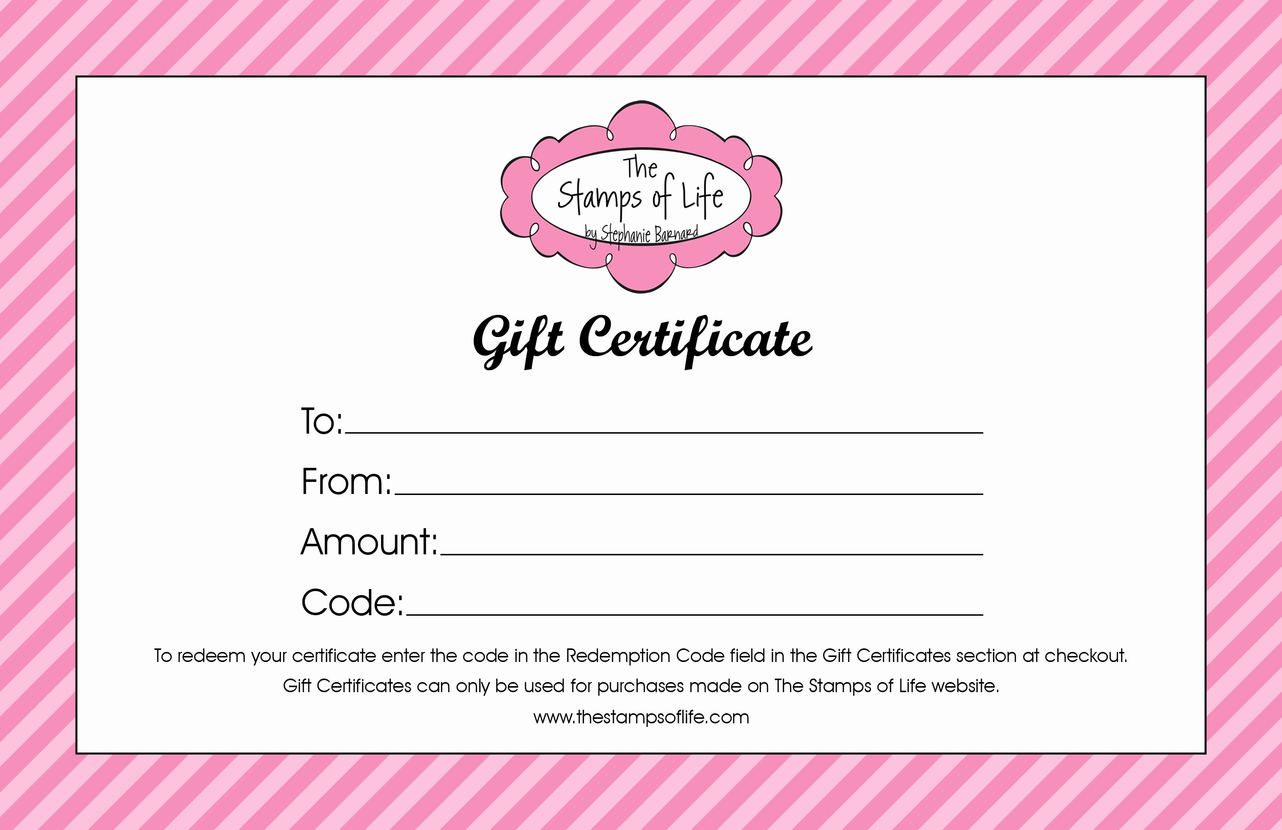 Homemade Gift Certificate Templates Free Lovely 21 Free Free Gift Certificate Templates Word Excel formats