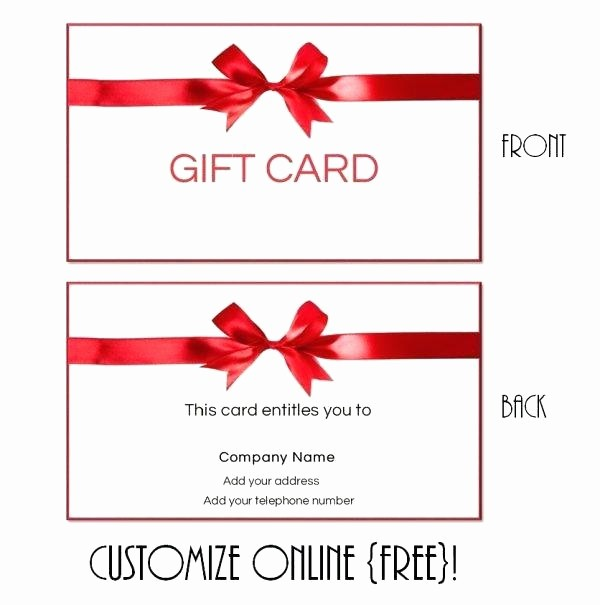 Homemade Gift Certificate Templates Free Lovely Homemade Christmas Gift Certificates Templates Elegant