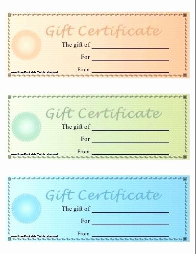 Homemade Gift Certificate Templates Free Luxury Homemade Gift Card Template Certificates Templates New