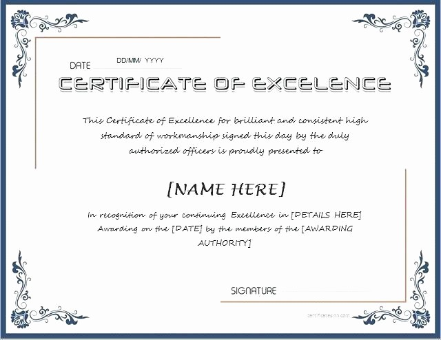 Honor Roll Certificate Template Word Awesome Honor Roll Certificate Template with A Blackboard