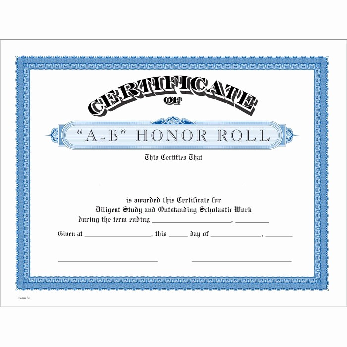 Honor Roll Certificate Template Word Lovely Honor Roll Certificates