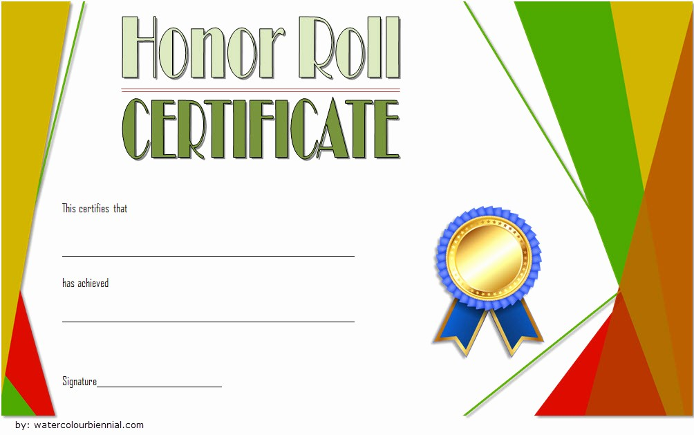 Honor Roll Certificate Template Word Unique Editable Honor Roll Certificate Templates 7 Best Ideas