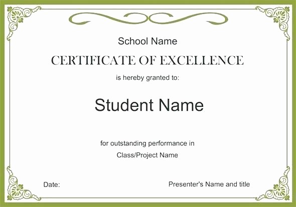 Honor Roll Certificate Template Word Unique Honor Roll Certificate Template with A Blackboard
