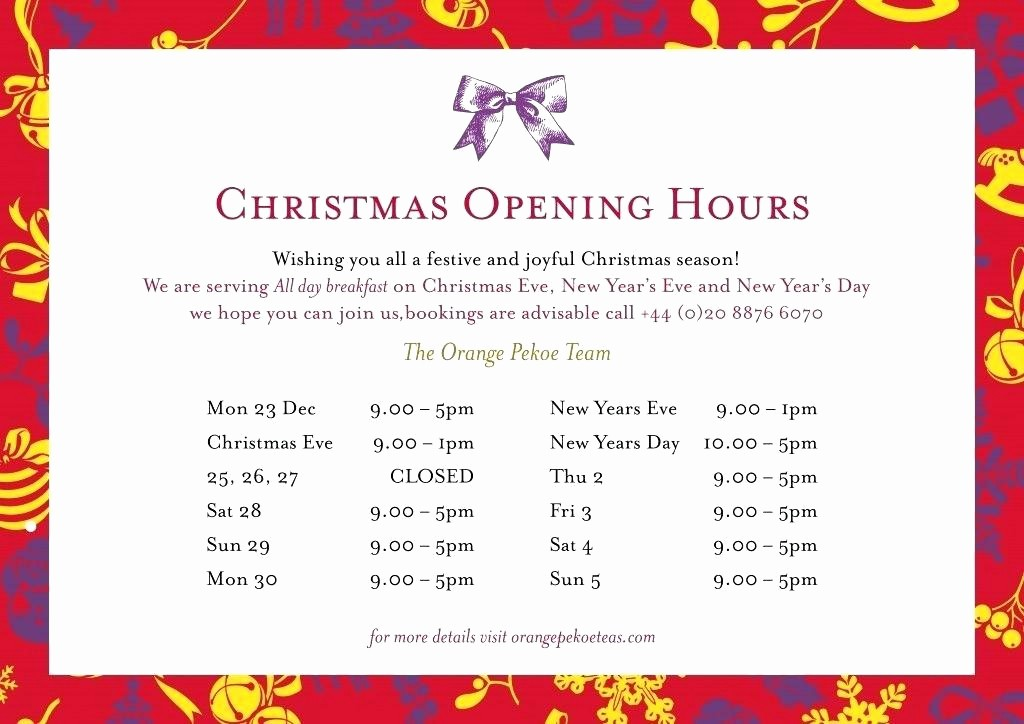 Hours Of Operation Template Word Fresh Printable Business Hours Sign Template – Helenamontanafo