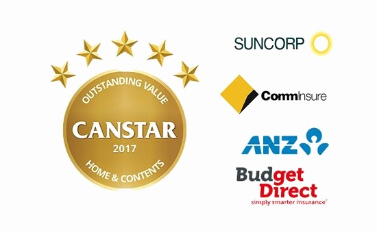 House Contents List for Insurance New 2017 Canstar Home & Contents Insurance Star Ratings