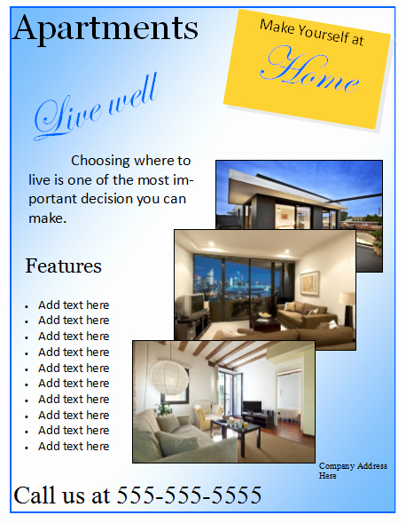 House for Sale Flyer Template Awesome 8 Best Of Printable event Flyer Templates Free