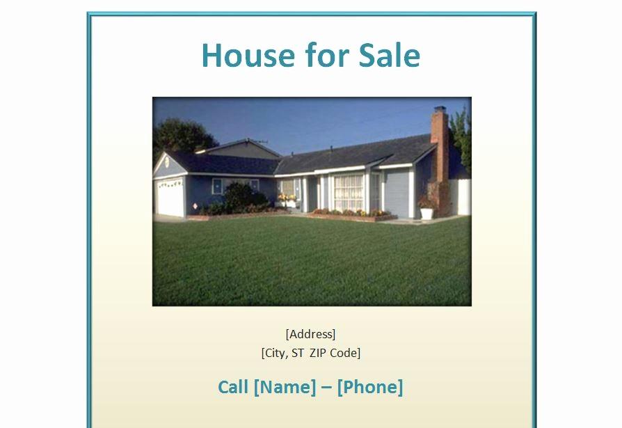 House for Sale Flyer Template Elegant Excel Templates Excel Template Excel Business Templates