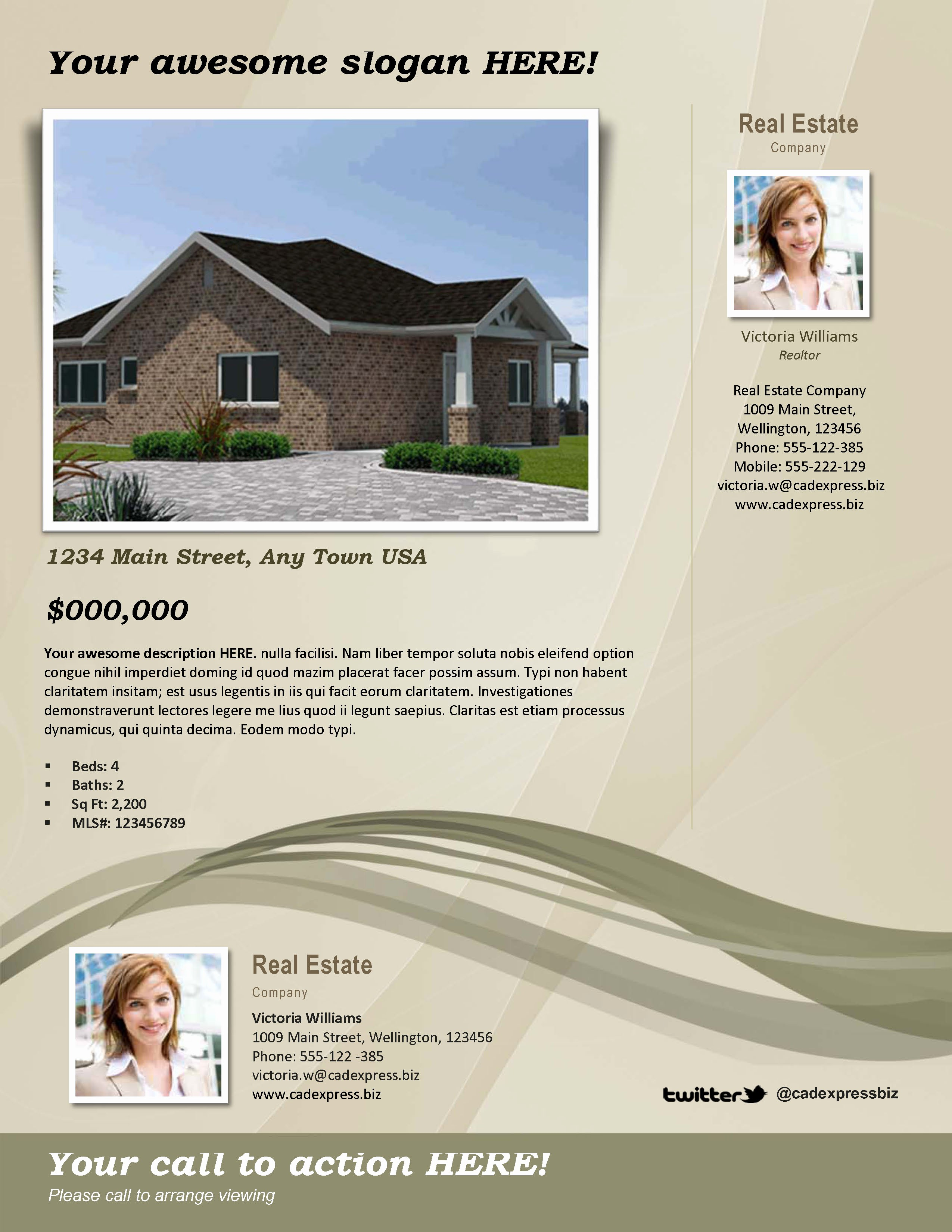 House for Sale Flyer Template Inspirational 10 Best Of Home by Owner Brochure Template for