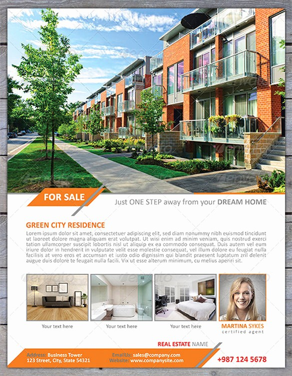 House for Sale Flyer Template Luxury 20 Stylish House for Sale Flyer Templates & Designs