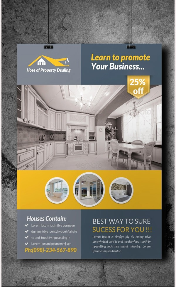 House for Sale Flyer Template New 44 Psd Real Estate Marketing Flyer Templates