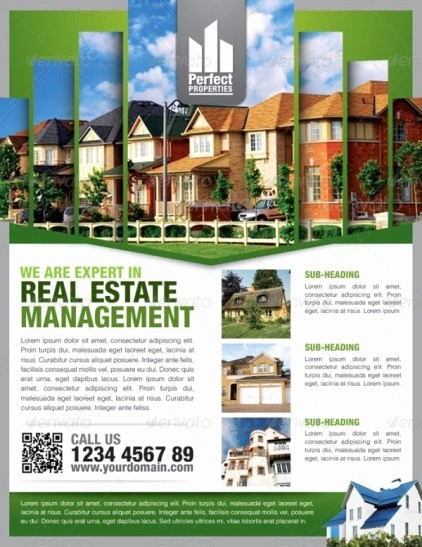 House for Sale Flyer Template Unique 13 Real Estate Flyer Templates Excel Pdf formats