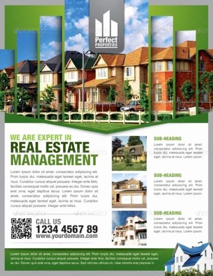House for Sale Flyer Template Unique 13 Real Estate Flyer Templates Excel Pdf formats