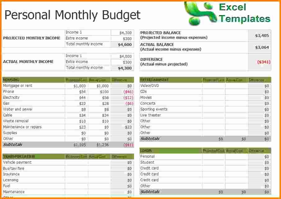 Household Budget Spreadsheet Template Free Luxury Monthly Household Bud Template Excel Uk Best Photos