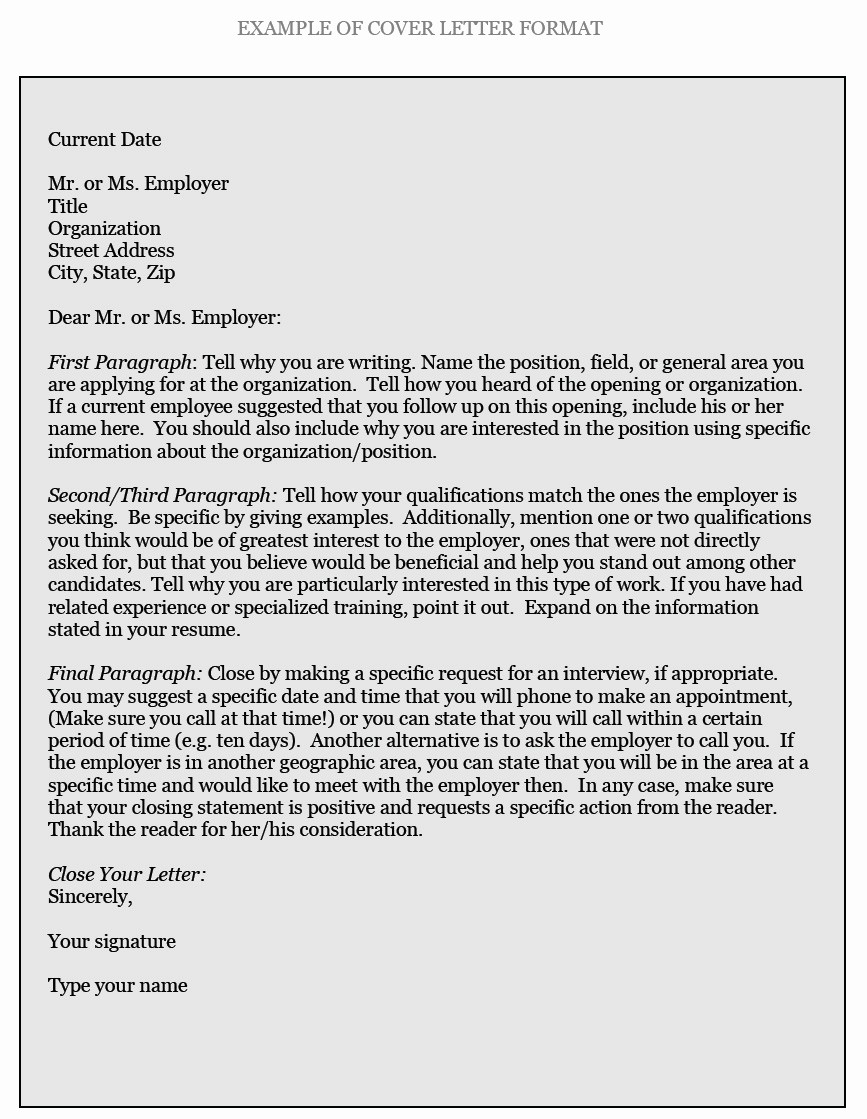How to Cover Letter Template Lovely How to Write Cover Letters