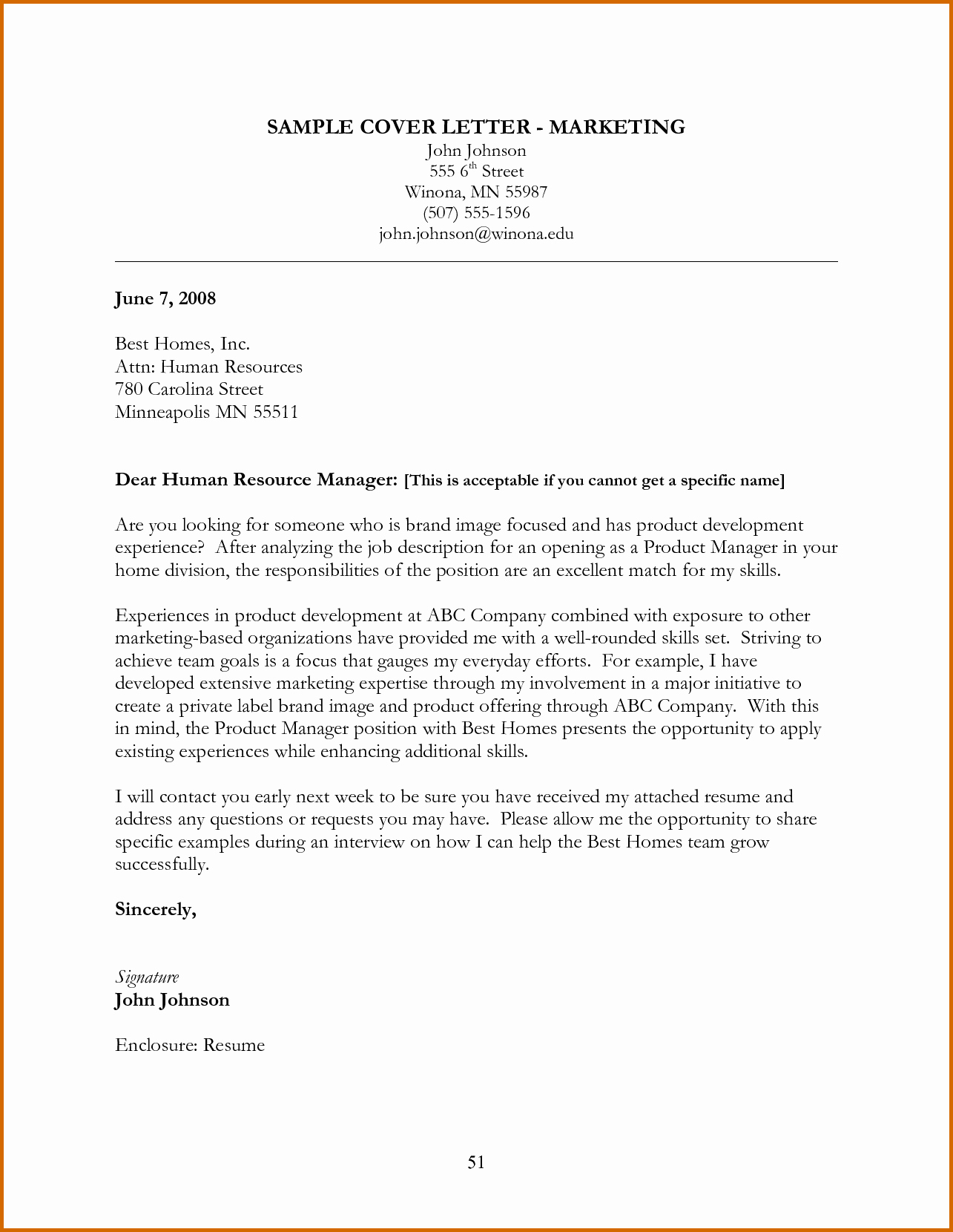 How to Cover Letter Template Luxury 10 How to Write A Marketing Cover Letter