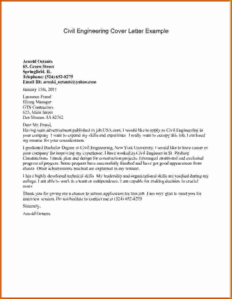 How to Cover Letter Template Unique 16 How to Write Cover Letter Engineering