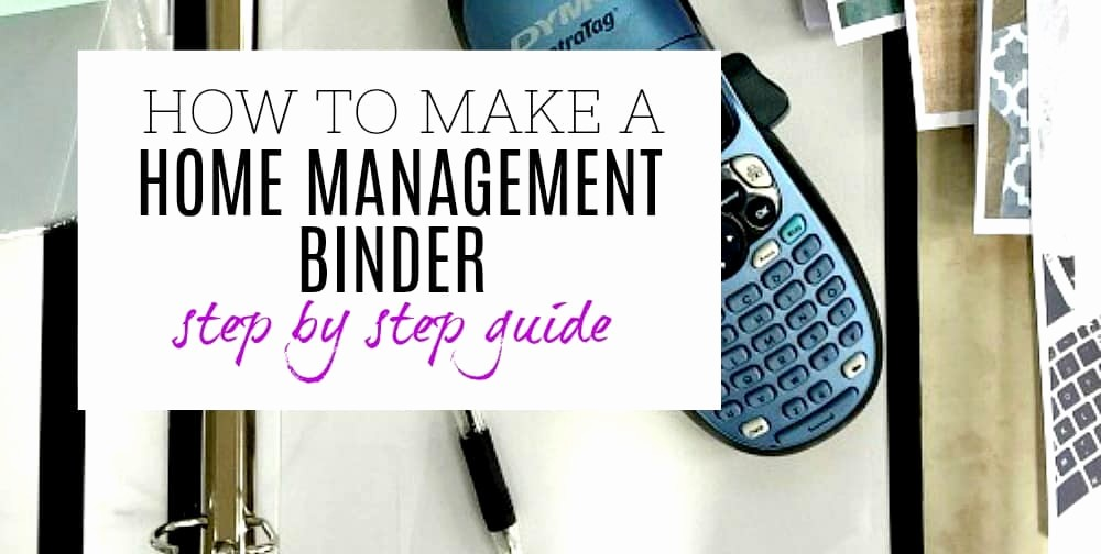 How to Create A Binder Best Of How to Make A Home Management Binder Ultimate Step by