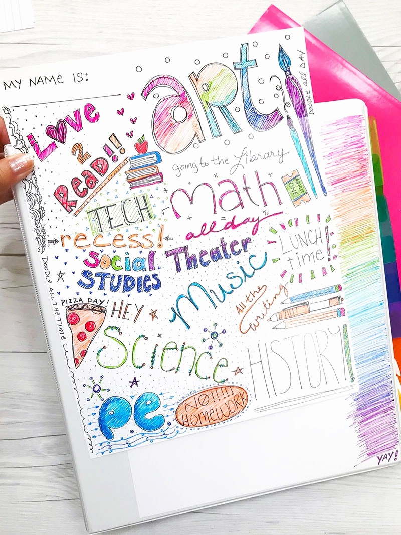 How to Create A Binder Best Of How to Make Cute Binders for School 100 Directions
