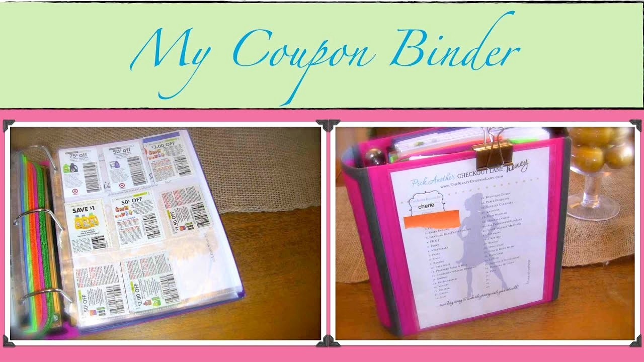 How to Create A Binder Fresh Couponing 101 My Coupon Binder How to organize