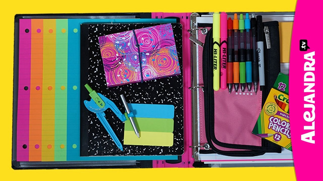 How to Create A Binder Inspirational Back to School organizing Tips Binder & School Notebook