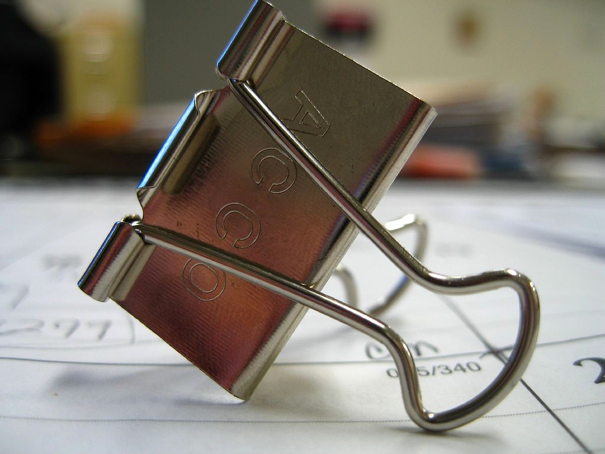 How to Create A Binder Inspirational Binder Clip