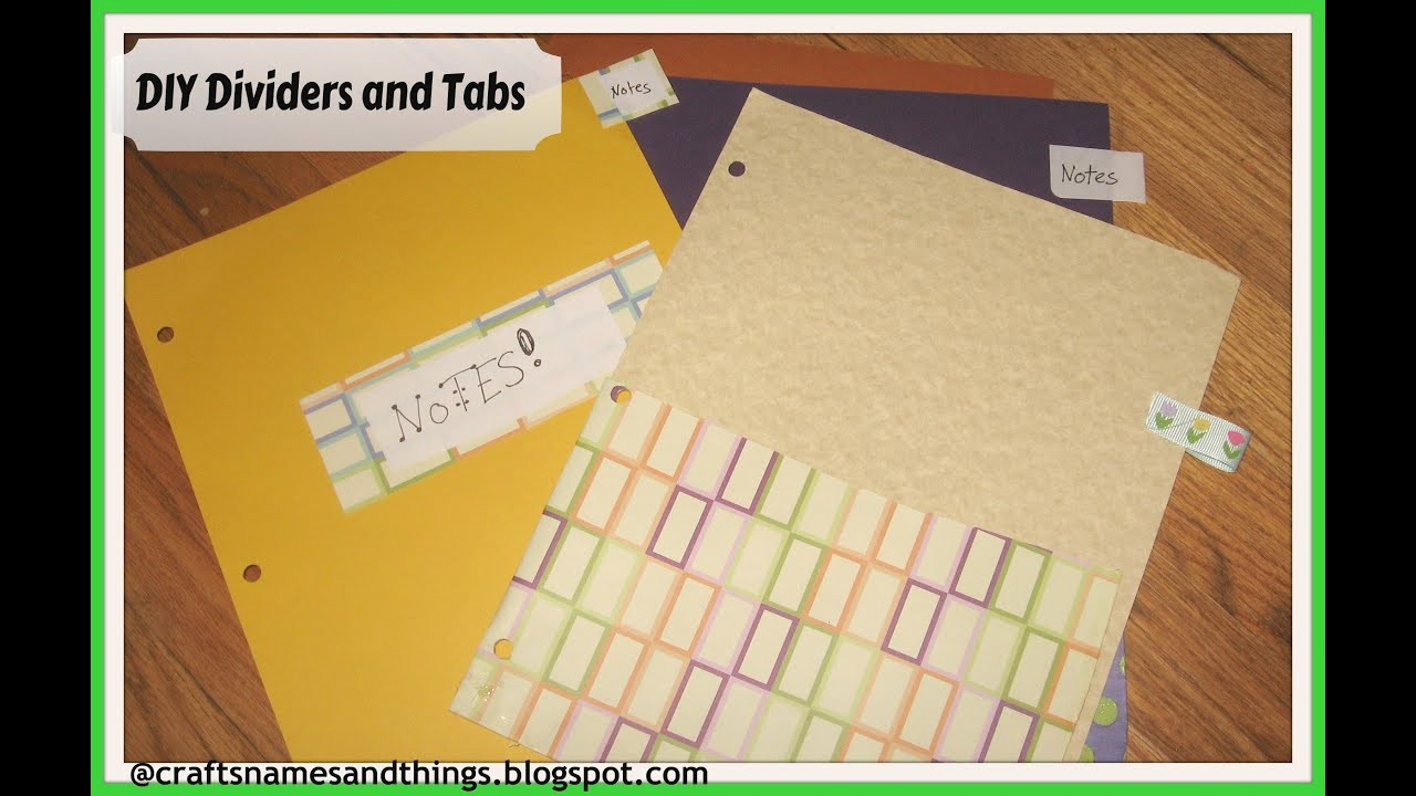 How to Create A Binder Inspirational Diy How to Make Binder Dividers with Pockets and Tabs Diy
