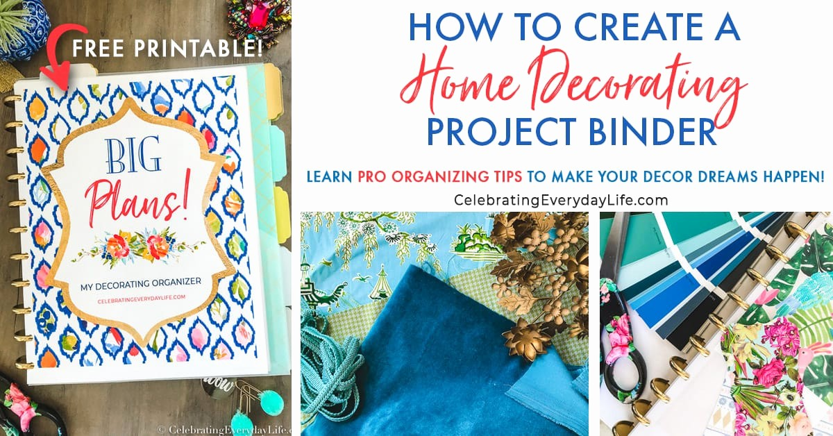 How to Create A Binder Luxury How to Create A Home Decorating Project Binder